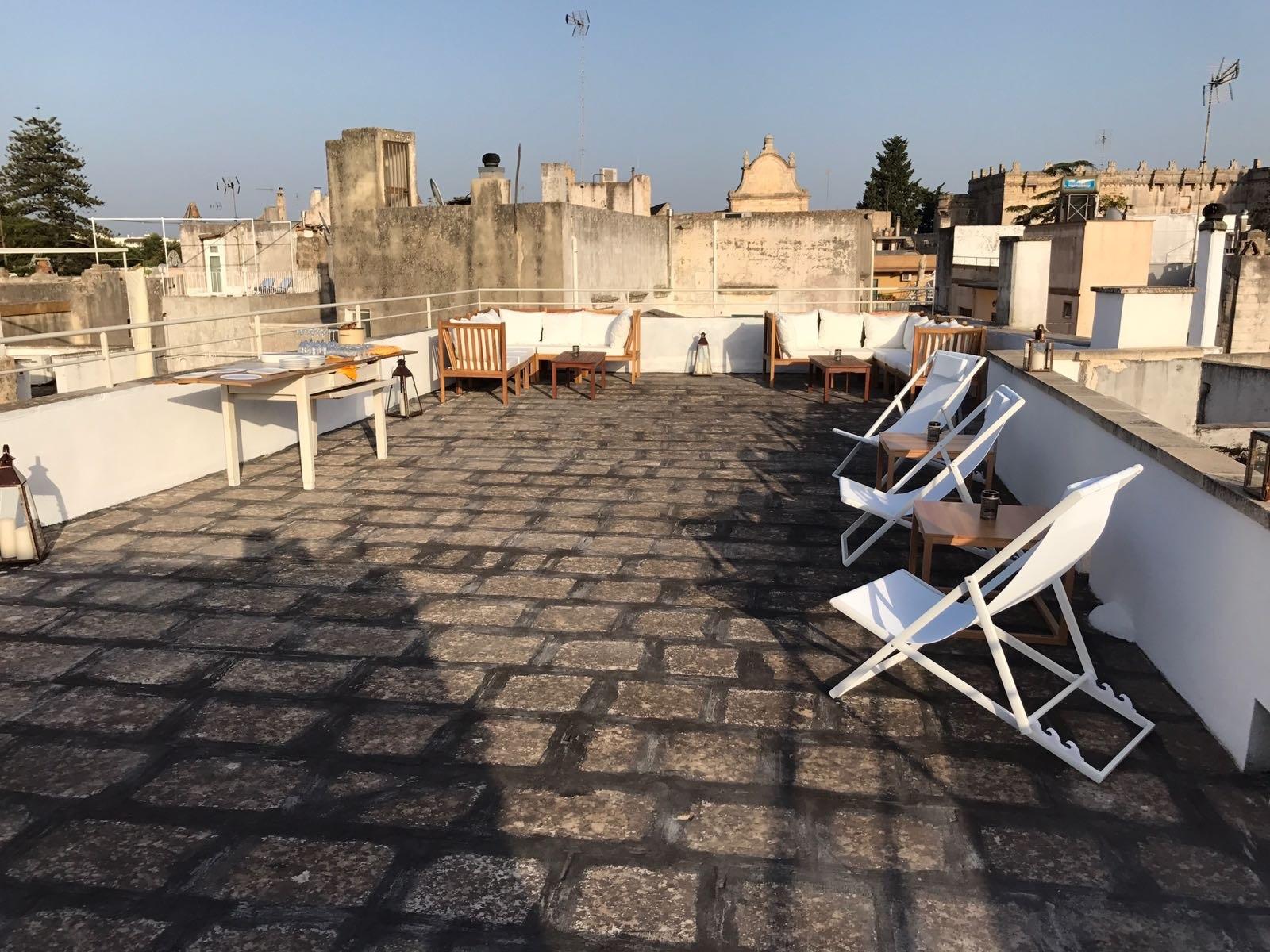 La terrazza di Palazzo San Giovanni